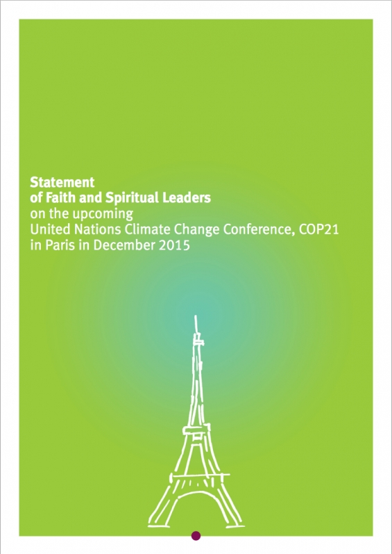 Statement from Religious Leaders: United Nations Climate Change Conference